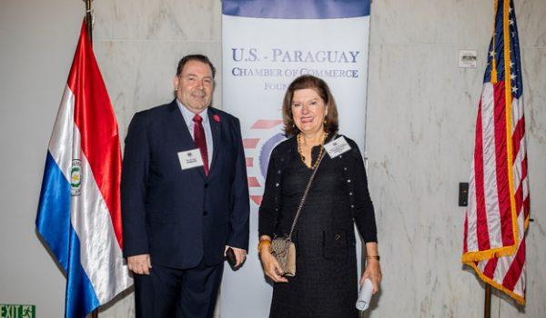 Ricardo Ward, PROSEGUR; Maria Rosa Baquerizo, CEO , USPCC